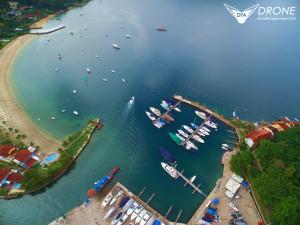 fotografias aéreas com drone angras dos reis