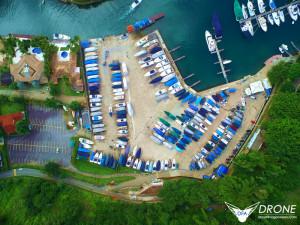 fotografia aéreas marina portogallo angras dos reis