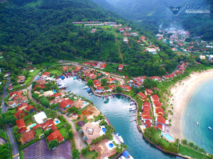 fotografias aéreas com drone angras condomínio portogallo