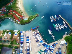 fotografias aéreas com drone angras dos reis rj condomínio portogallo