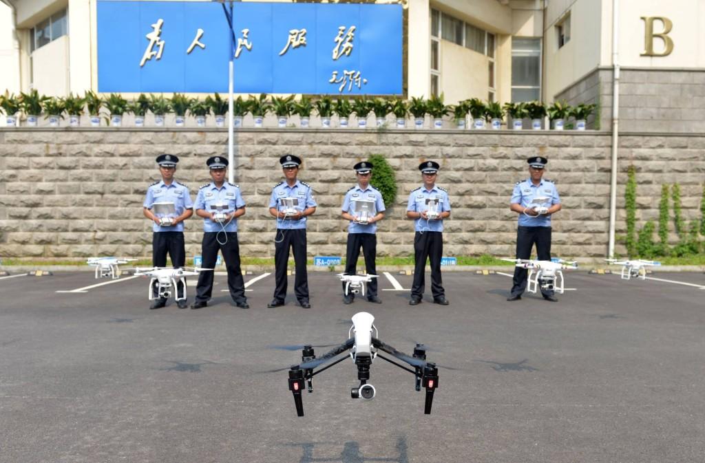 Drone e polizia