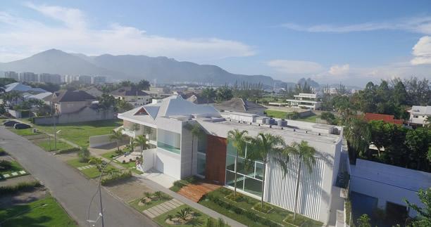RJ casa de luxo fotografias aereas barra da tijuca drone